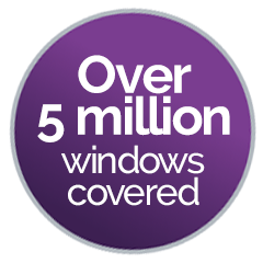 4 million windows covered