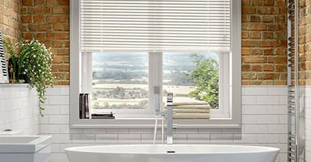 aluminium blinds for bathrooms