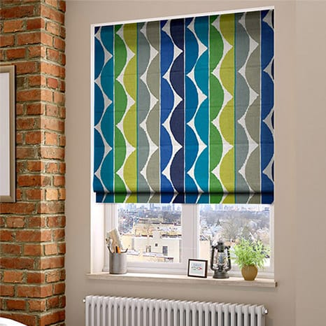 Blinds 2go designer window blinds for your home for Fabric window blinds designs
