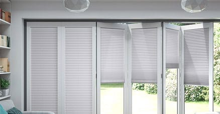 bifold blinds for patio doors - Blinds For Patio Doors