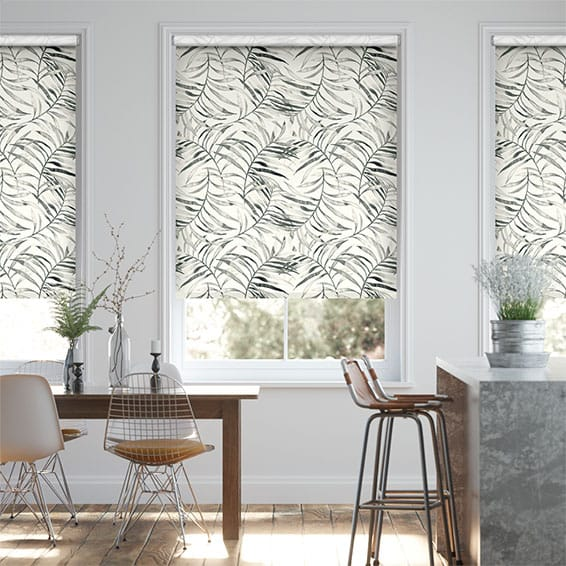 Choices Kentia Linen Smoke Roller Blind