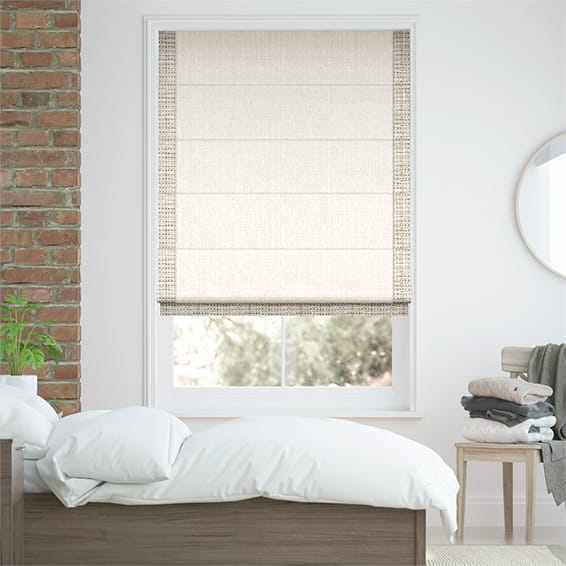 Accents Bisque Roman Blind
