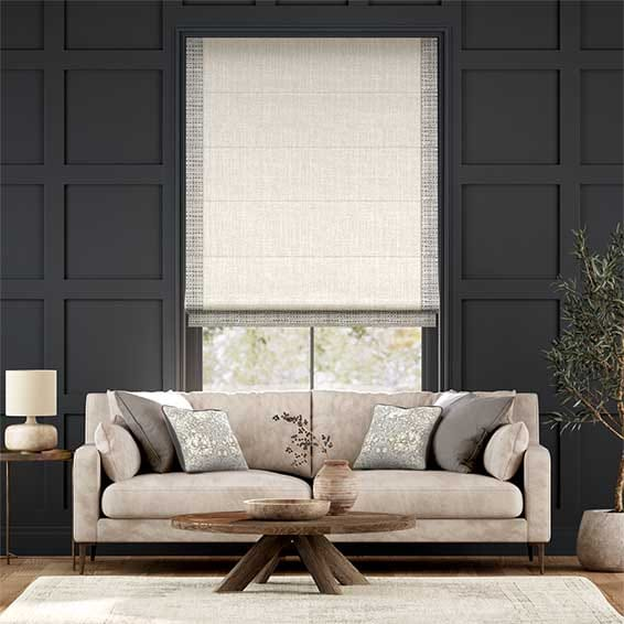 Accents Pumice Roman Blind
