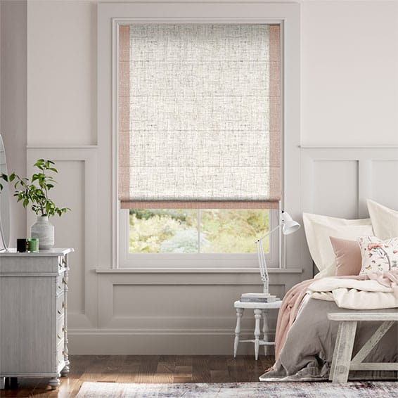Affinity Warm Blush Roman Blind