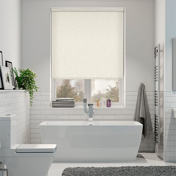 Alicante Blackout Marble Cream Roller Blind