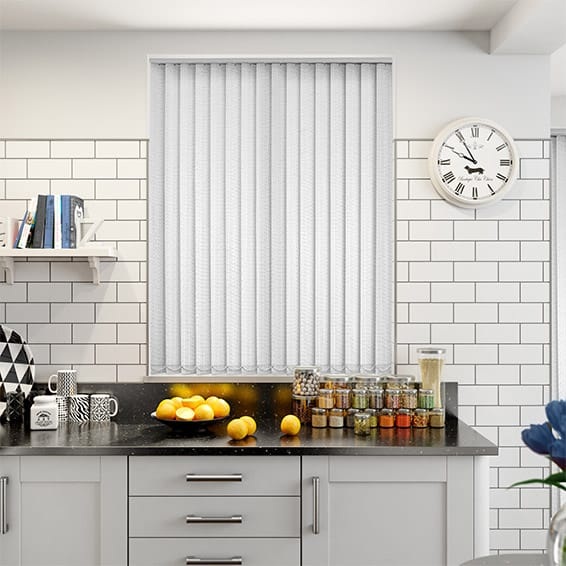 Alloro Snowdrop Vertical Blind