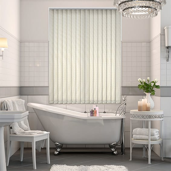 Alloro Vanilla Vertical Blind