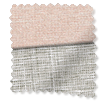 Amy Soft Blush Roman Blind slat image