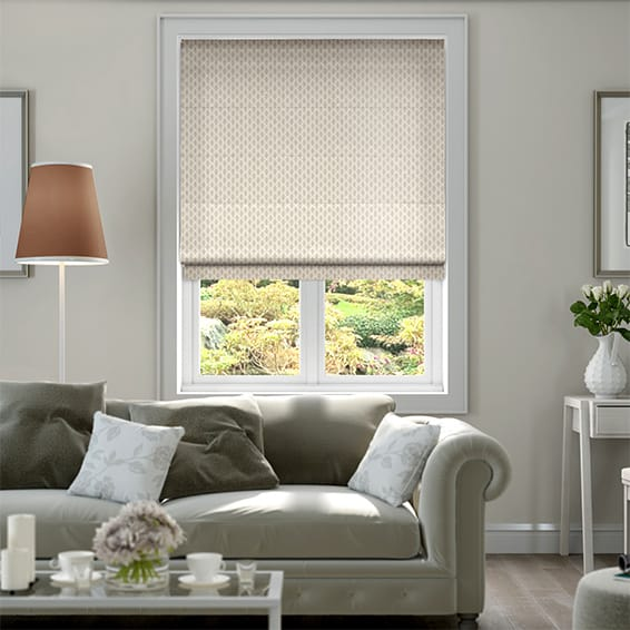 Ankara Bisque Roman Blind