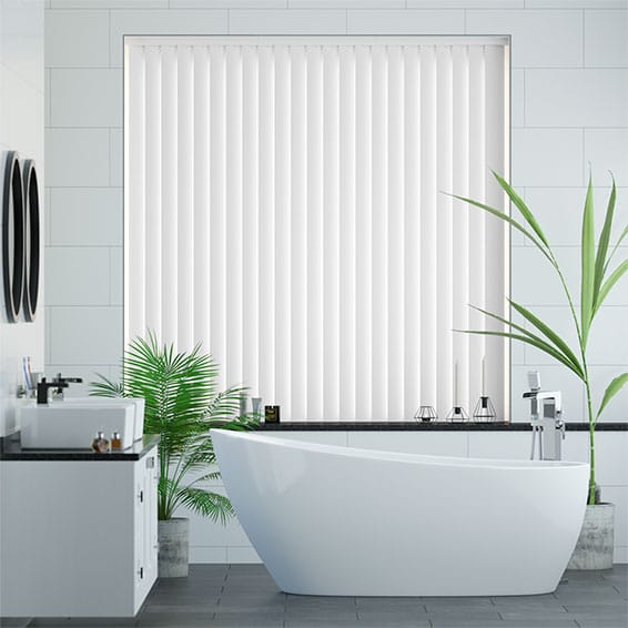 Rigid Pvc Vertical Blinds Up To 70 Off Made To Measure