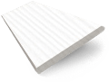 Arctic White Faux Wood Blind - 50mm Slat slat image