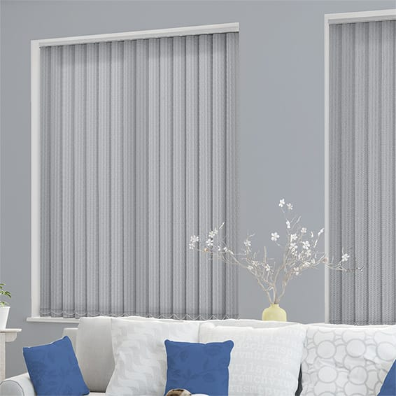 Bengal Stripe Designer Grey Vertical Blind
