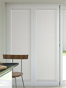 BiFold ClickFIT Bone White thumbnail image & BiFold Door Blinds | Blinds Perfect For BiFold Doors