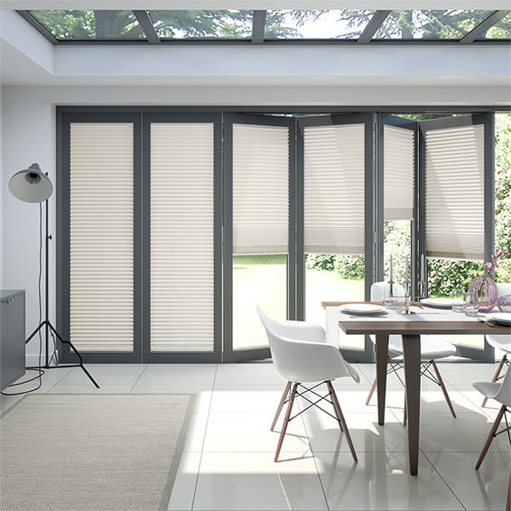 BiFold ClickFIT Cream Pleated Blind