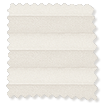 BiFold ClickFIT Cream Pleated Blind slat image
