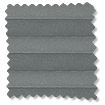 BiFold ClickFIT Slate Grey Pleated Blind slat image