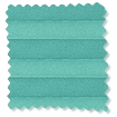 BiFold ClickFIT Tropical Green Pleated Blind slat image