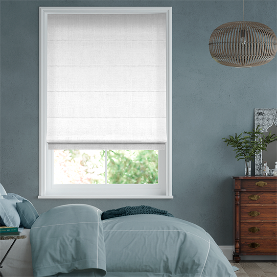 White Roman Blinds 2go Save Up To 70 Off High Street Rrps