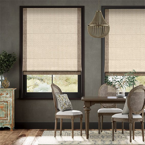 Brackendale Malted Cream Roman Blind