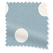 Button Spot Blue Roller Blind sample image