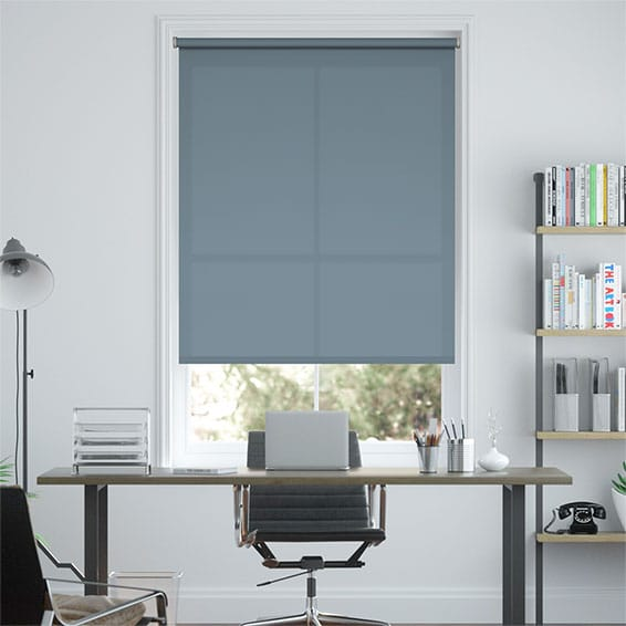 Cadiz Endless Blue Roller Blind