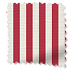 Candy Stripe Cherry Roman Blind slat image