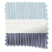 Cardigan Stripe Blue Horizon Roman Blind slat image