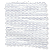 Caress White Blackout Roller Blind slat image