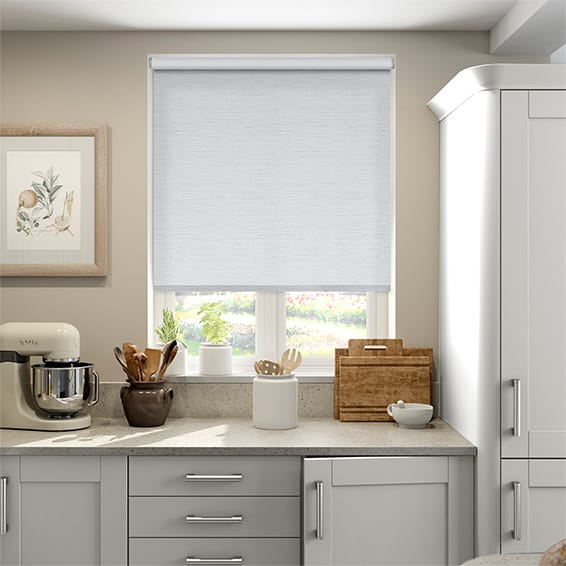 Caress White Blackout Roller Blind