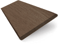 Caribbean Walnut Wooden Blind - 50mm Slat slat image