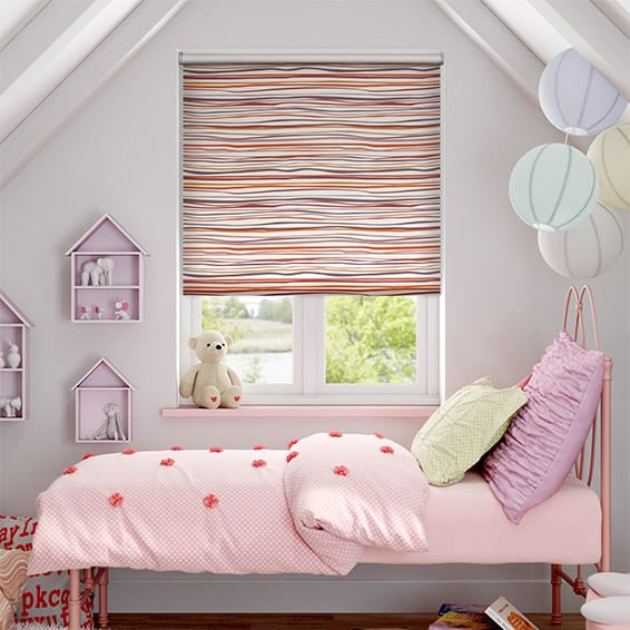 Nice Carnival Candy Blackout Roller Blind