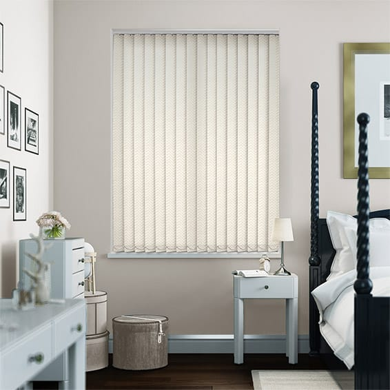 Casa Rich Cream Vertical Blind