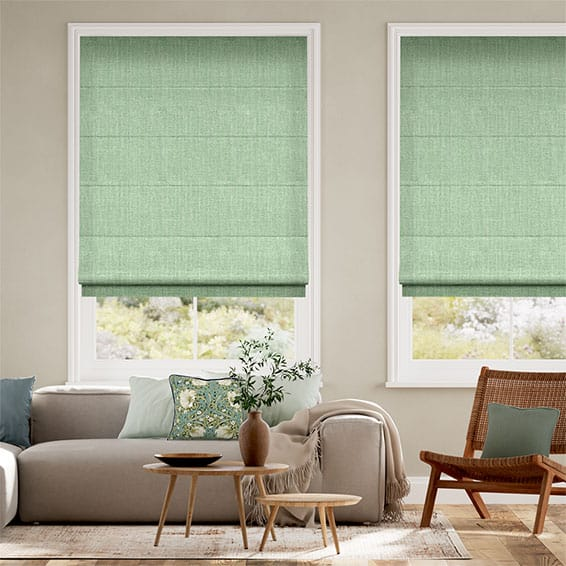 Cavendish Apple Roman Blind