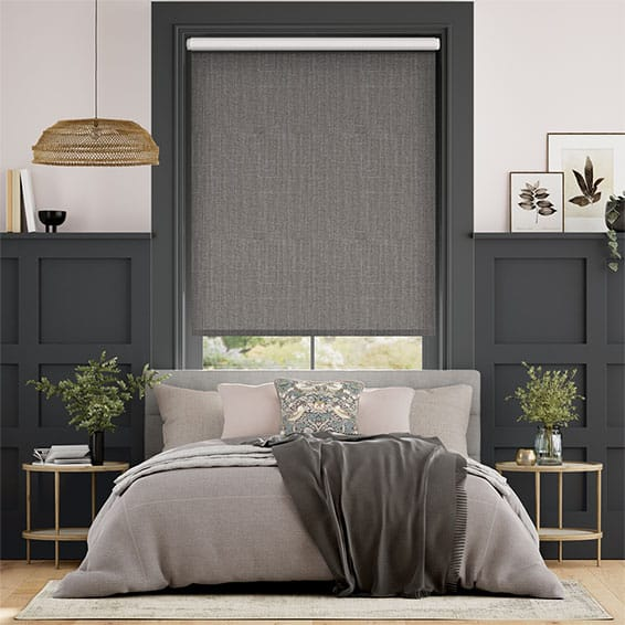 Choices Cavendish Tonal Grey Roller Blind