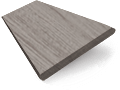 Ash Grey Faux Wood Blind - 50mm Slat slat image