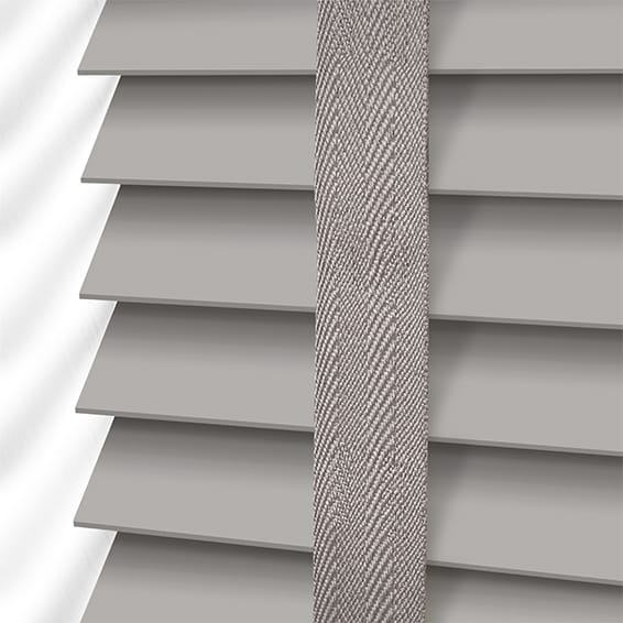 Wooden Blinds With Tapes Savings On Grey Faux Wood