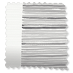 Splash Ceramic Stripe Clay Grey Roller Blind slat image