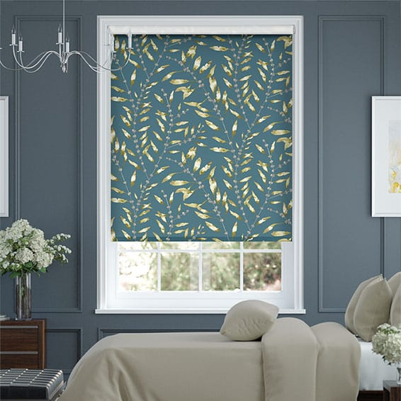 Chaconia Ink Roller Blind