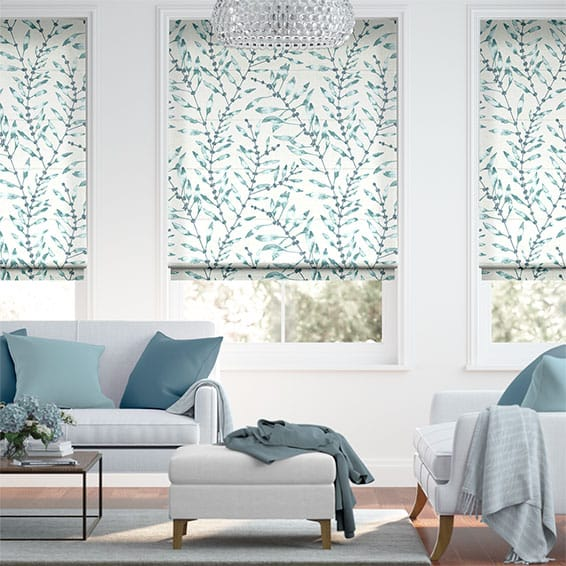 Chaconia Mist Roman Blind