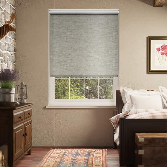 Choices Ahisma Luxe Faux Silk Mink Blackout Roller Blind