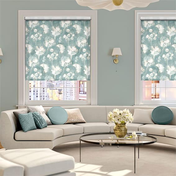 Choices Allium Linen Sky Roller Blind