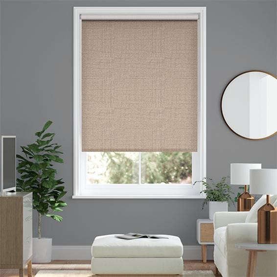 Choices Amore Sandstone Roller Blind