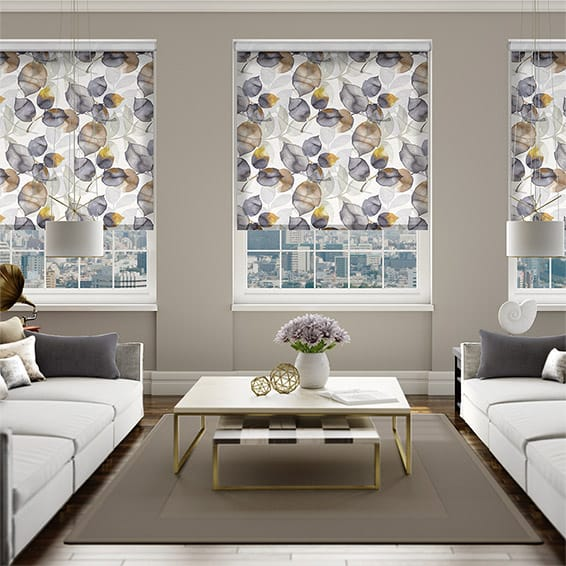Choices Blakely Linen Mustard Roller Blind