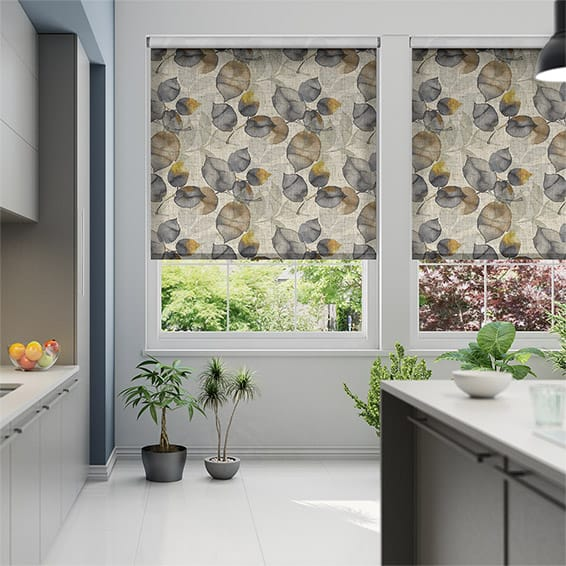 Choices Blakely Linen Vintage Mustard Roller Blind