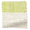 Choices Cardigan Stripe Linen Sea Green Roller Blind slat image