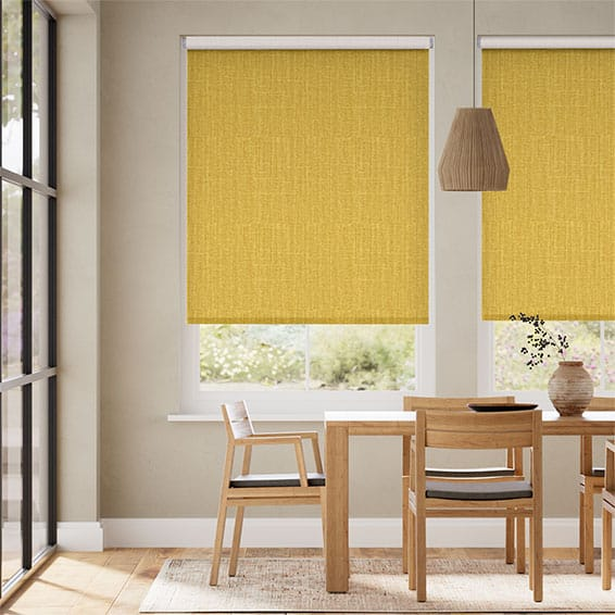 Choices Cavendish Mimosa Gold Roller Blind
