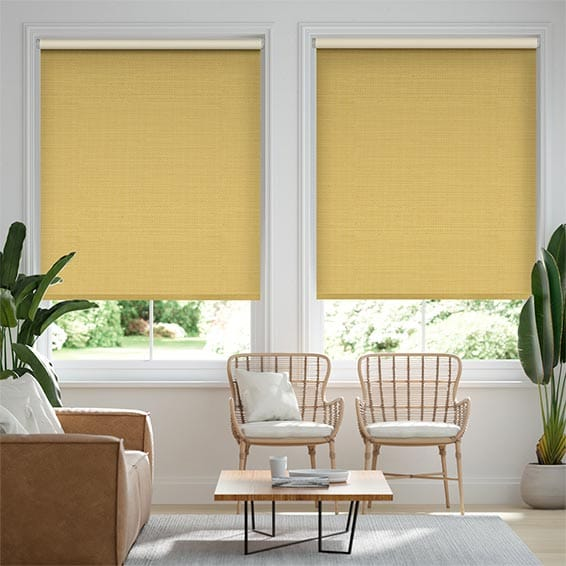 Choices Chalfont Mustard Roller Blind