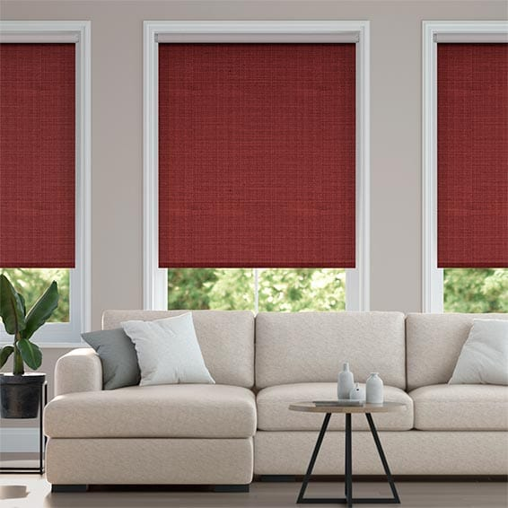 Choices Chalfont Scarlet Roller Blind