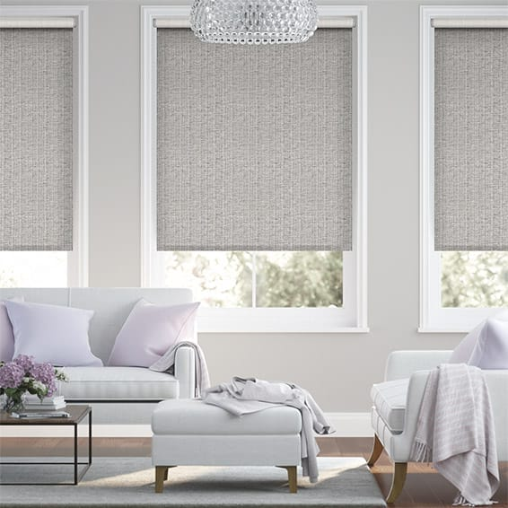 Choices Chenille Chic Zinc Roller Blind
