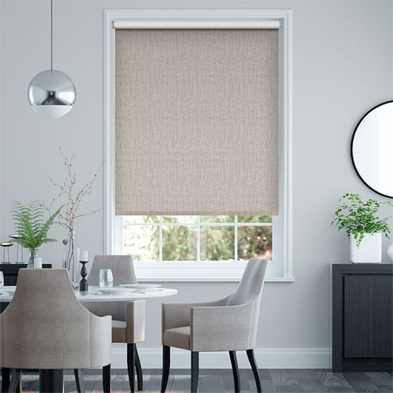Choices Chenille Stone Grey Roller Blind
